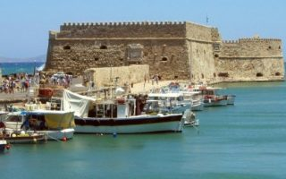 Το υπερήφανο ιστορικό φρούριο του Χάνδακα.