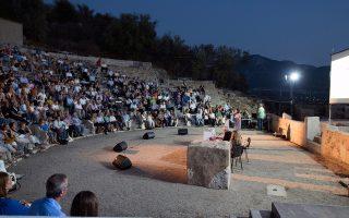 Στο θέατρο της Μικρής Επιδαύρου έγινε στις 17 Σεπτεμβρίου η παρουσίαση του προγράμματος του act4greece για την ενίσχυση των μελετών αποκατάστασης του αρχαίου θεάτρου της Κασσώπης.