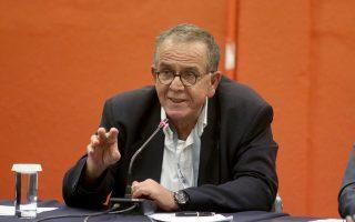 Ο αναπληρωτής υπουργός αρμόδιος για τη Μεταναστευτική Πολιτική, Ιωάννης Μουζάλας.