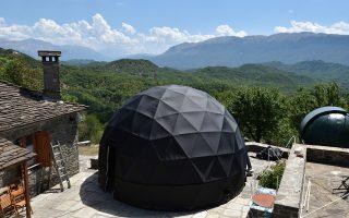 Το πρώτο κινητό ψηφιακό πλανητάριο στην Ελλάδα, με διάμετρο 6 μ. και ύψος 4 μ., εγκαινιάστηκε προ ημερών στα Γιάννενα.