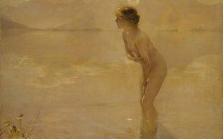Paul Chabas, «September Morn» (1912).