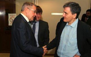 Συνάντηση Ρέγκλινγκ-Τσακαλώτου την Τετάρτη στο Λουξεμβούργο.