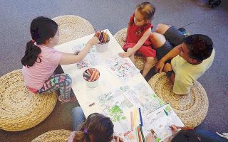 Kυριακάτικα εργαστήρια δημιουργικής απασχόλησης για τα παιδιά, το γλυκύτερο κοινόν του MΓΦI.
