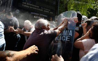 Τα χθεσινά γεγονότα, στη συμβολή της λεωφόρου Βασ. Σοφίας με την οδό Ηρώδου Αττικού, προκάλεσαν μίνι κρίση στο εσωτερικό της Ελληνικής Αστυνομίας.