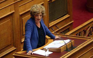 Το νομοσχέδιο για τα μεταπτυχιακά είναι αρμοδιότητος της αναπληρώτριας υπουργού Παιδείας Σίας Αναγνωστοπούλου.