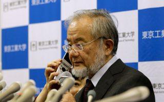 Ο βραβευμένος με Νομπέλ Ιατρικής Γιοσινόρι Οσούμι.