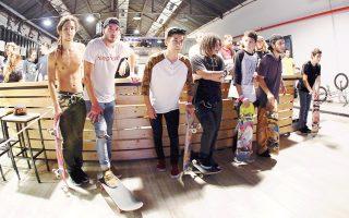 Το φεστιβάλ 7Ply project συγκεντρώνει κάθε χρόνο περισσότερους από 4.000 λάτρεις του αθλήματος με τα skateboards τους.