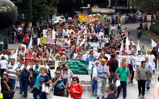 Το «Καραβάνι της Υγείας» των εργαζομένων πέρασε, χθες, από τα περισσότερα κεντρικά νοσοκομεία της Αθήνας μέχρι να καταλήξει στο υπουργείο Υγείας.