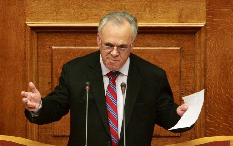 Δραγασάκης: «Όχι» σε τέταρτο μνημόνιο και εκλογές