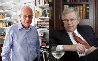 Η Βασιλική Σουηδική Ακαδημία Επιστημών βράβευσε τους Ολιβερ Χαρτ (Χάρβαρντ στις ΗΠΑ) και Μπενγκτ Χόλμστρεμ (ΜΙΤ στις ΗΠΑ).