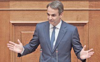 Ο πρόεδρος της Νέας Δημοκρατίας Κυρ. Μητσοτάκης κάλεσε τον πρωθυπουργό Αλ. Τσίπρα να προκηρύξει εκλογές, προκειμένου ο ελληνικός λαός «να δώσει τέλος στον κατήφορο».