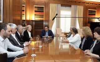 Κατά τη συνάντηση της ηγεσίας των ανωτάτων δικαστηρίων με τον πρωθυπουργό, την περασμένη εβδομάδα, συζητήθηκε και η παράταση του ορίου ηλικίας των ανώτατων δικαστικών πέρα από το 67ο έτος.