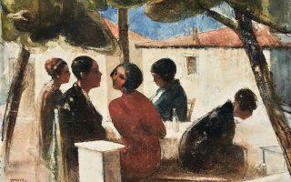 Ουσιαστικός και σεμνός ζωγράφος, ο Τριανταφυλλίδης έμεινε στη σκιά.