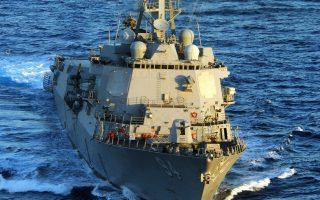 Το αντιτορπιλικό «Νίτσε» έπληξε τις θέσεις από τις οποίες οι Χούτι εξαπέλυσαν την επίθεση κατά του αμερικανικού ναυτικού.