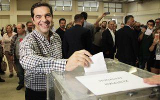 Eνισχυμένος εξήλθε από τις κομματικές διεργασίες ο Αλ. Τσίπρας.