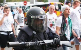 Πριν από τον χθεσινό αγώνα Ρεάλ-Λέγκια στη Μαδρίτη, η ισπανική αστυνομία συνέλαβε τρεις οπαδούς της Λέγκια.