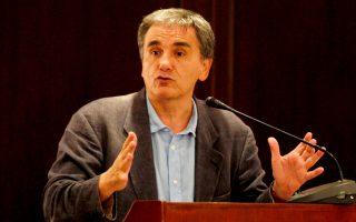 «Πολλοί παίκτες δουλεύουν για την εξεύρεση λύσης για το ελληνικό χρέος. Αν δεν τα καταφέρουμε, θα είναι πολύ αρνητική εξέλιξη», τόνισε ο κ. Τσακαλώτος.