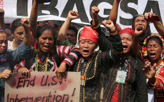 Το έντονο αντιαμερικανικό συναίσθημα στις Φιλιππίνες φαίνεται να απηχούν οι θέσεις του προέδρου Ντουτέρτε.