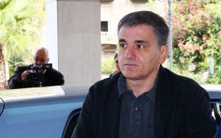 Ο υπουργός Οικονομικών κ. Ευκλείδης Τσακαλώτος.