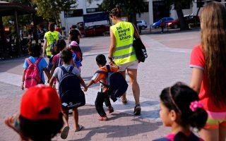 Θετικές ήταν οι περισσότερες αντιδράσεις στα 19 σχολεία που υποδέχθηκαν προσφυγόπουλα.