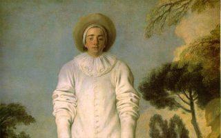 Jean-Antoine Watteau, «Pierrot» (1719).
