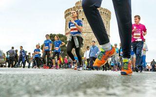 Πάνω από 20.000 δρομείς συμμετείχαν τον Απρίλιο του 2016 στον Διεθνή Μαραθώνιο «Μέγας Αλέξανδρος».