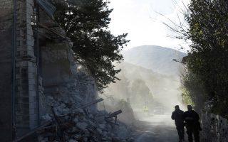 Μεγάλες υλικές ζημιές προκάλεσαν οι δίδυμοι σεισμοί στην πόλη Βίσο.
