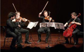 Οι τέσσερις μουσικοί διέθεταν ωραίο ήχο, αλλά κυρίως αντιμετώπισαν τα έργα με όμοια συναισθηματική επένδυση ή εγκράτεια.
