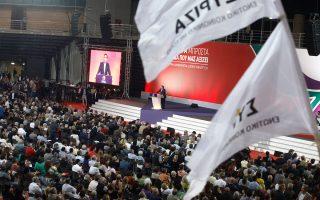 Από το βήμα του 2ου συνεδρίου, ο κ. Τσίπρας ουσιαστικά προανήγγειλε το άνοιγμα του κόμματος με στόχο να εξελιχθεί σε βασικό Κεντροαριστερό πόλο του νέου διπολισμού.
