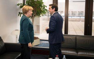 Σύμφωνα με γερμανική πηγή, η κ. Μέρκελ ανέφερε στον κ. Τσίπρα ότι οι αποφάσεις για το χρέος δεν είναι γερμανικές και ότι θα ληφθούν σε επίπεδο Eurogroup.