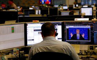 Χρηματιστήρια και αγορές συναλλάγματος «ψήφισαν» τη Χίλαρι Κλίντον.
