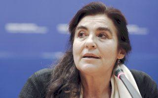Η ύπαρξη κονδυλίων «δεν είναι πάντα απαραίτητη», είπε η νέα υπουργός Πολιτισμού Λυδία Κονιόρδου.