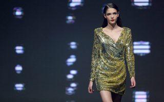 Ο κανόνας των μοντέλων. Η εικονιζόμενη Jana από την Τσεχία είναι η νικήτρια του διαγωνισμού Elite Model Look World Final 2016 που διεξήχθη στην Λισσαβόνα. Η Jana είναι το κλασικό παράδειγμα για το πώς πρέπει να μοιάζει ένα μοντέλο για να κάνει διεθνή καριέρα: να έχει πρόσωπο κοριτσιού, σώμα έφηβης και ύψος μπασκεμπολίστα.  EPA/MANUEL DE ALMEIDA