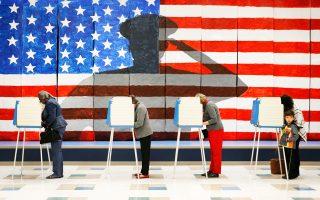 Σε στάση αναμονής οι Αμερικανοί ψηφοφόροι για τις επόμενες κινήσεις του νέου προέδρου.