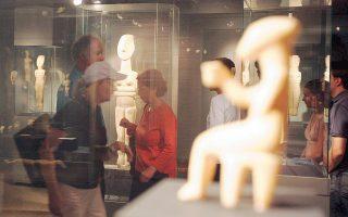 Αλμα στον χρόνο θα κάνουν οι επισκέπτες της έκθεσης στο Μουσείο Κυκλαδικής Τέχνης, στις αρχές Δεκεμβρίου.