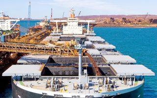 Με ρυθμούς της τάξεως του 10% αυξάνονται οι εισαγωγές χύδην φορτίων.