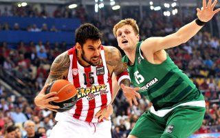 Οι δύο ομάδες θα αναμετρηθούν ξανά, ένα μήνα μετά την εύκολη επικράτηση του Ολυμπιακού στο ΣΕΦ για το πρωτάθλημα.