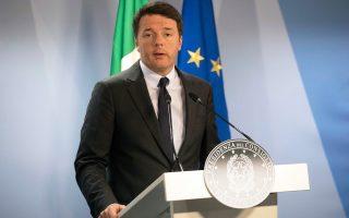 Ο Ιταλός πρωθυπουργός, πρωταγωνιστής μιας ακόμη εν δυνάμει κρίσης στην Ε.Ε.