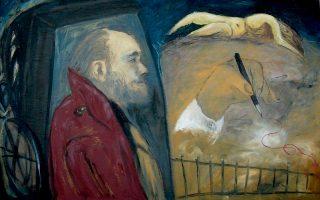 Πορτρέτο Χ. ΜΠ, έργο του Γιώργου Μπούτλα