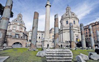 Ο αρχαιολογικός χώρος της αυτοκρατορικής αγοράς της Ρώμης είναι πλέον προσβάσιμος στο κοινό.