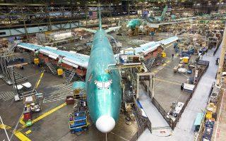 Πηγές στις Βρυξέλλες εκτιμούν ότι το ύψος της «απαγορευμένης επιδότησης» της Boeing φθάνει τα 5,7 δισ. δολάρια σε σύνολο ενός πακέτου ευνοϊκών φορολογικών ρυθμίσεων 8,7 δισ.