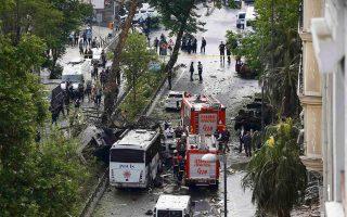 Φωτογραφία αρχείου από έκρηξη στην Κωνσταντινούπολη.