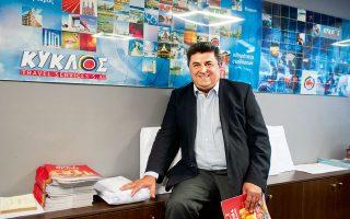 Γιώργος Καλαμπαλίκης, συνιδιοκτήτης και γενικός διευθυντής Kyklos Travel (Φωτογραφία: ΚΛΑΙΡΗ ΜΟΥΣΤΑΦΕΛΟΥ)