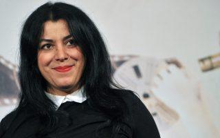 Η Μαρζάν Σατραπί σήμερα θα έχει μια ανοιχτή στο κοινό συζήτηση με την Αννα Δαμιανίδη (7 μ.μ., στη Στέγη).