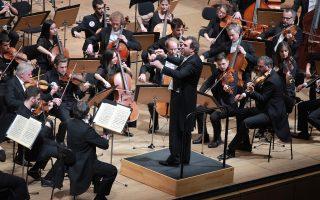 Ο Ντανιέλε Γκάτι διευθύνει τη Βασιλική Ορχήστρα Κοντσέρτχεμπαου του Άμστερνταμ (φωτ.: Χ. Ακριβιάδης)