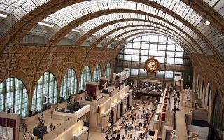 Πανοραμική όψη του Μουσείου Orsay. (Φωτογραφία: ΔΗΜΗΤΡΗΣ ΤΣΟΥΜΠΛΕΚΑΣ)