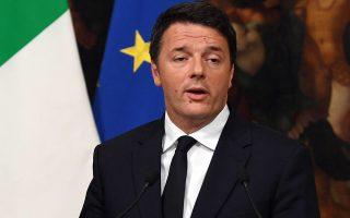 Η ανησυχία έχει αρχίσει να εξαπλώνεται στη Γηραιά Ηπειρο για το αποτέλεσμα του δημοψηφίσματος στην Ιταλία και το μέλλον της κυβέρνησης του Ματέο Ρέντσι.