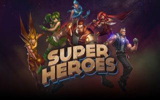 Tη μουσική και τον ήχο του παιχνιδιού «Super Heroes» της Yggdrasil, εμπνευσμένου από την αισθητική των κόμικς, υπογράφει η Stellita Loukas.