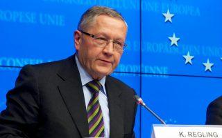 Σύμφωνα με τον επικεφαλής του ESM, Κλάους Ρέγκλινγκ, η εφαρμογή των βραχυπρόθεσμων μέτρων ελάφρυνσης του ελληνικού χρέους θα ξεκινήσει τις επόμενες εβδομάδες, και για να ολοκληρωθεί η υλοποίησή τους, θα απαιτηθεί διάστημα 12-18 μηνών.