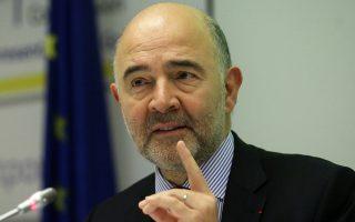 Ο επίτροπος Οικονομικών Υποθέσεων της Κομισιόν, Πιερ Μοσκοβισί, τόνισε πως ορισμένα κράτη-μέλη συμφώνησαν στη στόχευση «ελαφρώς επεκτατικών προϋπολογισμών, αλλά χωρίς συγκεκριμένο νούμερο».
